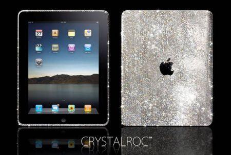 High Tech: l'iPad tempestato di Swarovski