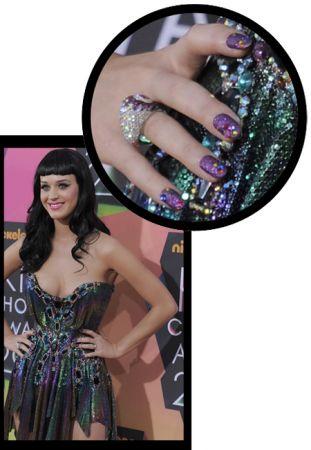 Le stupende unghie di Katy Perry