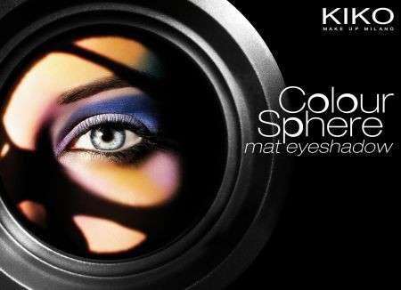 Ombretti: Colour Sphere Mat di Kiko