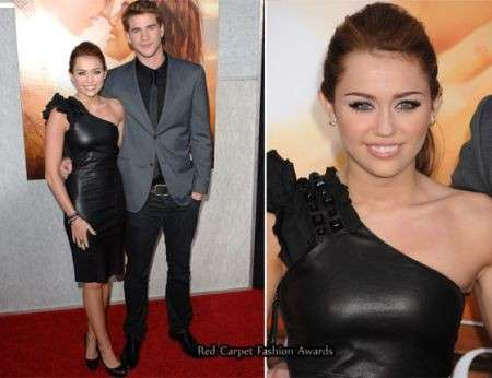 Miley Cyrus in Thomas Wylde