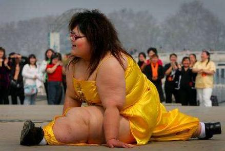 obesita ragazza sport