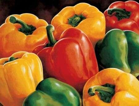 Ricette light: mousse di peperoni