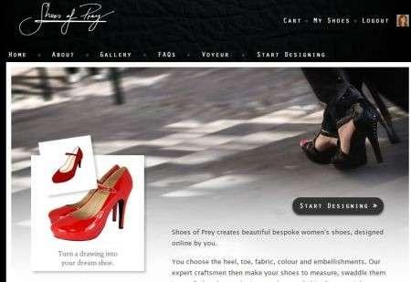 Shoes of Prey, disegna le scarpe dei tuoi sogni