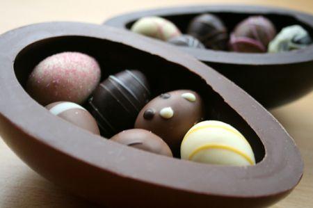 Ricette Dolci Pasqua: uovo di cioccolato ripieno