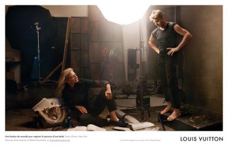Kate Moss e Mikhail Baryshnikov danzano per Louis Vuitton