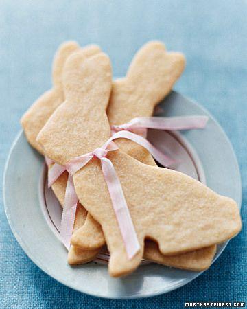 Biscotti di Pasqua: coniglietti semplici di pasta frolla