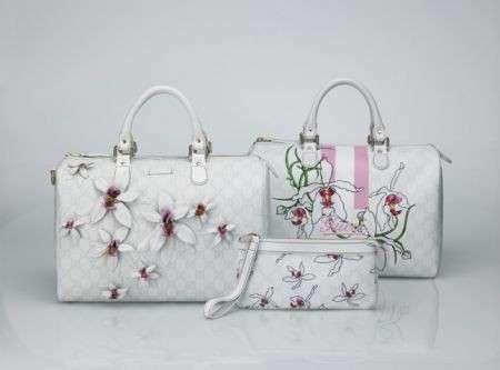 Gucci: sulle borse sbocciano le orchidee