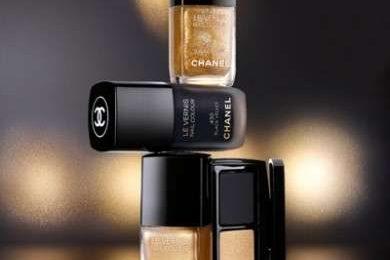 Smalti: Chanel noir et or Paris-Shangai