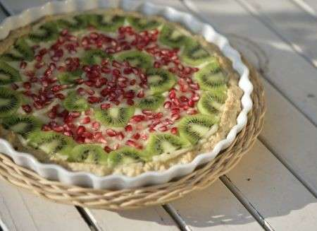 Ricetta crostata di kiwi