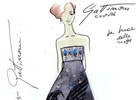 Gattinoni, all'asta un abito dedicato all'Aquila