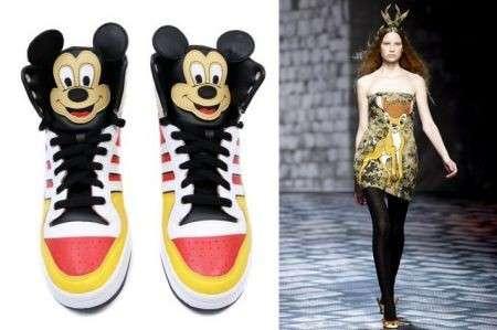 I personaggi Disney contagiano la moda