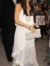 Jessica Alba con un abito Chloé