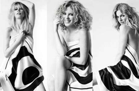 Kylie Minogue, Sienna Miller e Claudia Shiffer insieme per uno scopo benefico