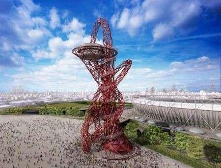 Curiosità: la torre narghilé di Londra 2012