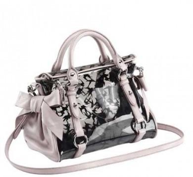 miu miu handbag trasparente