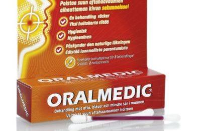 Afte: via il dolore da subito con l'Oralmedic