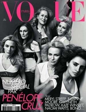 Penelope Cruz special editor di Vogue Paris