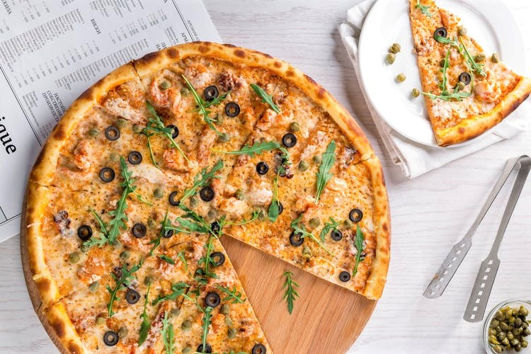 Ricette light, la pizza con le olive