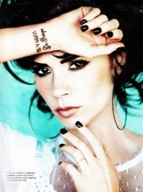 Victoria Beckam regina di Vogue Germany