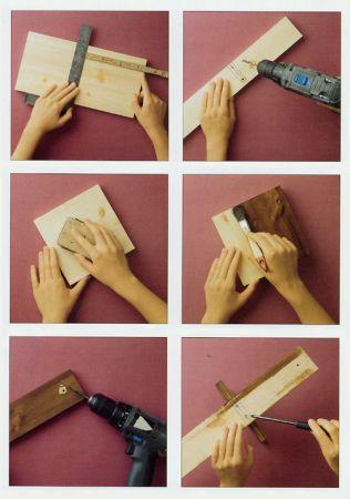 scaffale istruzioni
