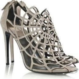 Scarpe Roberto Cavalli: i sandali a ragnatela