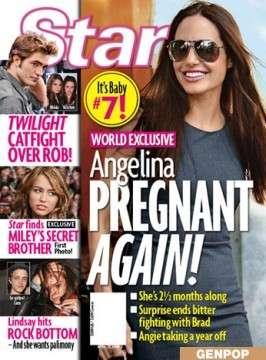 Angelina Jolie incinta, sarà vero?