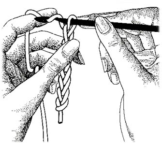 Uncinetto: la maglia alta