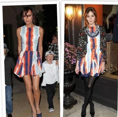 Abito Julian J Smith: Victoria Beckham o Olivia Palermo?