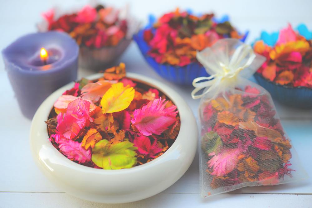 Creare in casa i potpourri dei vostri fiori preferiti