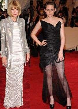 Met Costume Institute Gala: Kristen Stewart e Anna Wintour in Chanel