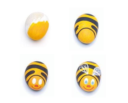 Bomboniere fai da te: come disegnare un'ape su un sasso