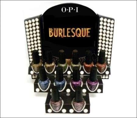 Smalto unghie: la Burlesque collection di OPI per l'autunno 2010
