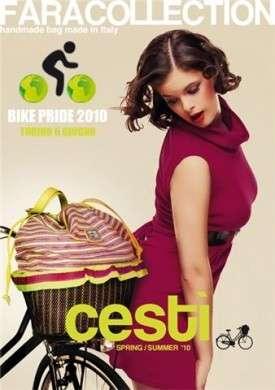 Fara Collection porta Cestì al Bike Pride a Torino