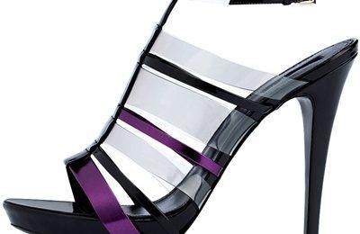 Scarpe Giorgio Armani, Sandalo in plexiglass
