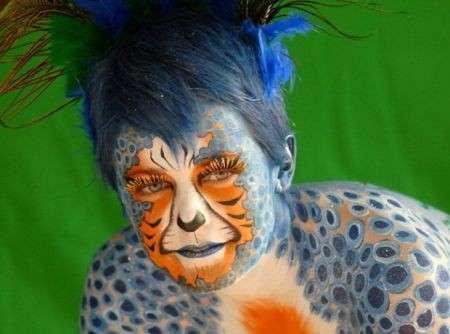 Body Painting Festival, le foto dei make up più belli