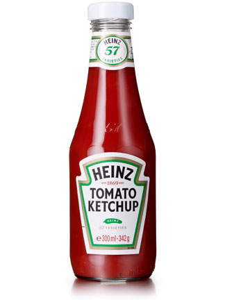 Ipertensione arteriosa: meno sale nel ketchup Heinz