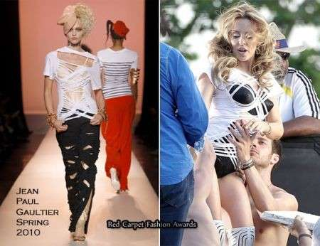 Kylie Minogue veste Jean Paul Gaultier nell'ultimo videoclip