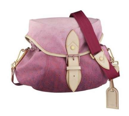 Louis Vuitton Monogram Denim Sunshine rosa