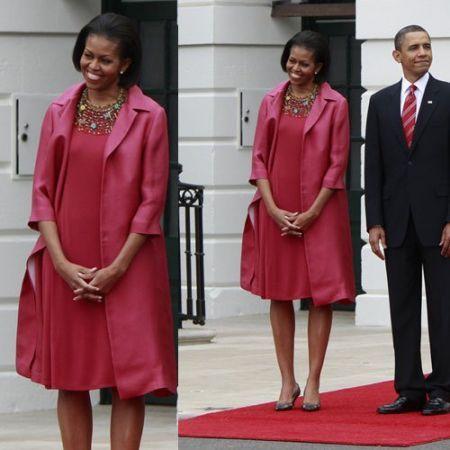 Calvin Klein veste Michelle Obama alla Casa Bianca