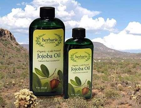 olio di jojoba bottiglie