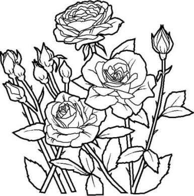 Festa della mamma: i fiori da colorare