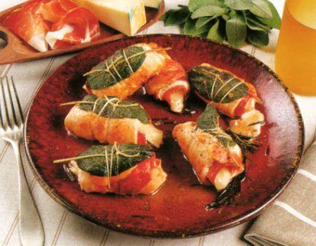 Ricette dietetiche: rotolini di peperone e scamorza