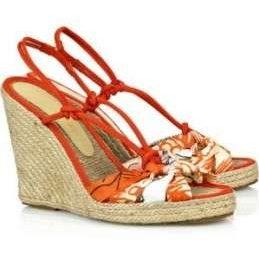 Scarpe Stella McCartney, le espadrille arancioni