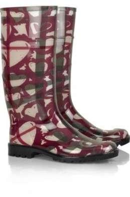 Stivali: Burberry ci aiuta contro la pioggia!