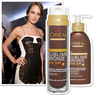 Crema corpo, illuminare la pelle con Sublime Bronze one day