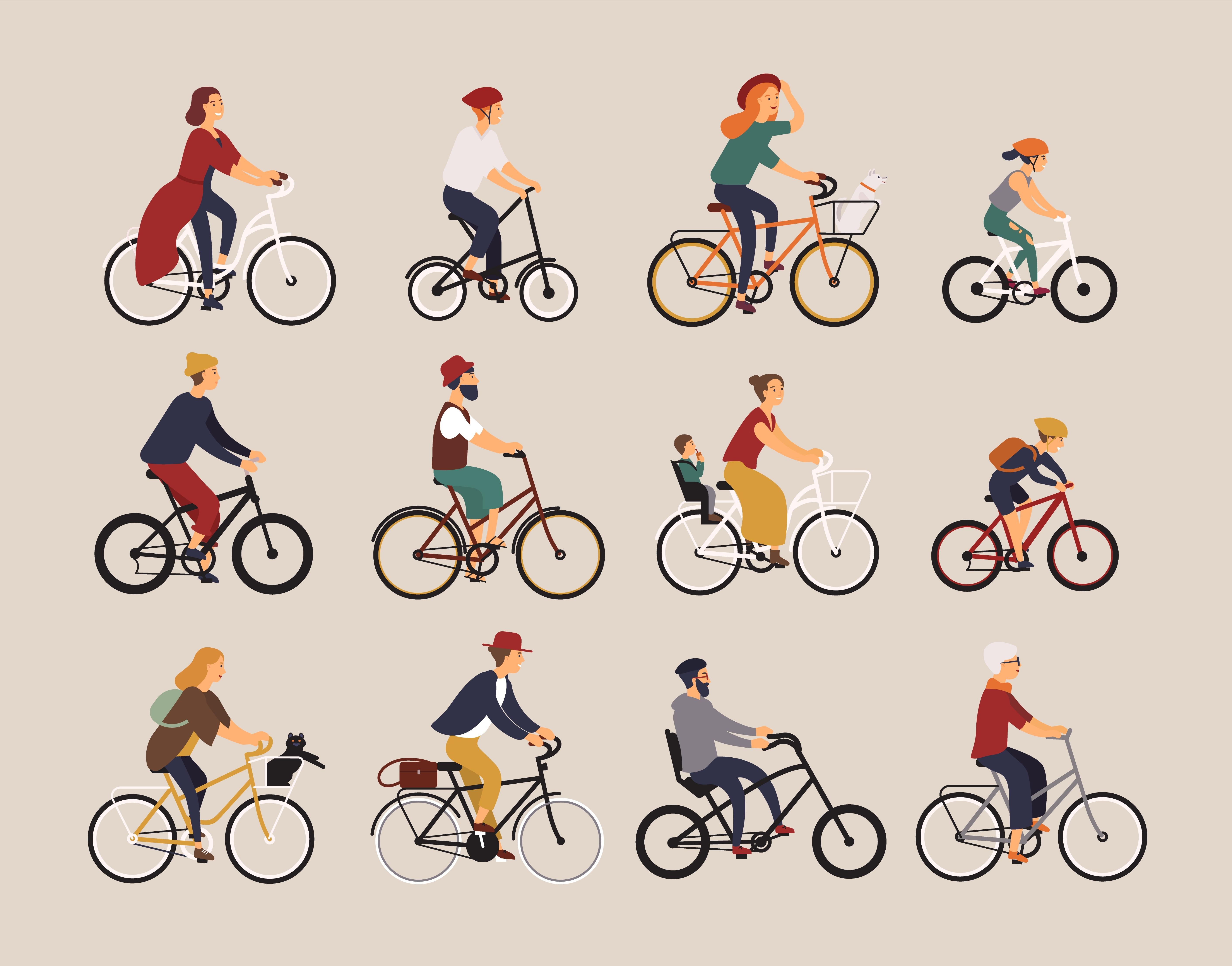 Bicicletta sicura per tutta la famiglia