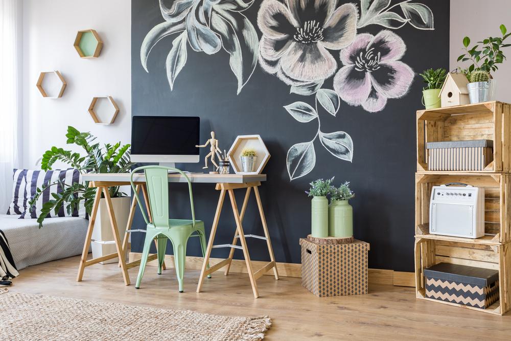 Decoupage: una lavagnetta a muro decorata per la vostra cucina ...
