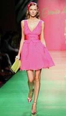 Abito corto rosa Coveri