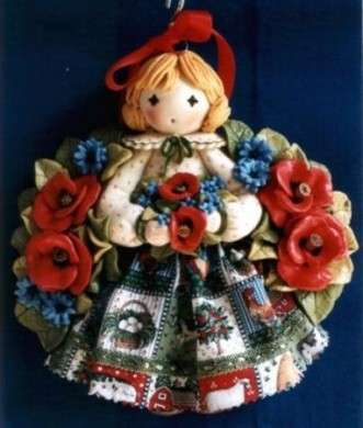 bambolina in pasta di sale