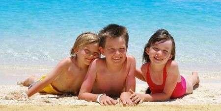 Bambini al mare: attenzione ai nei